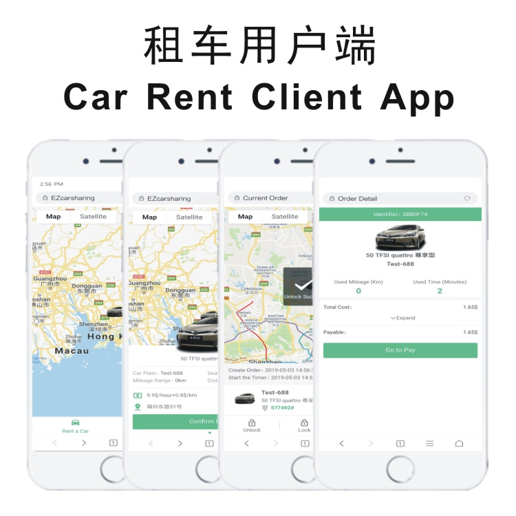 Car Rental Car Sharing Platform Software Solution