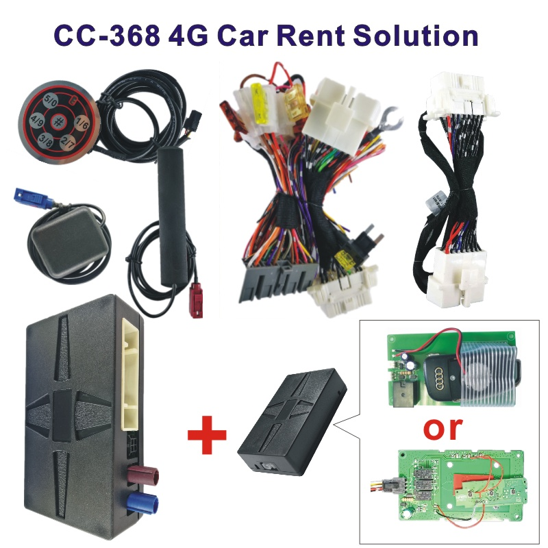 CC-368(4G) Smart Car Rent Control