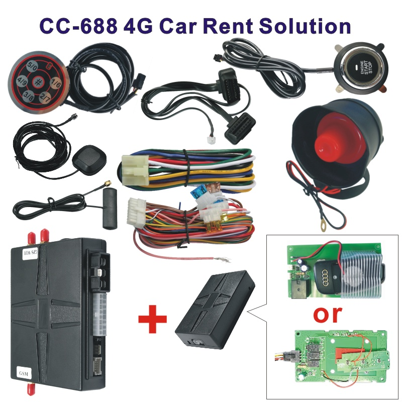 CC-688(4G) Full Function Car Rent Control